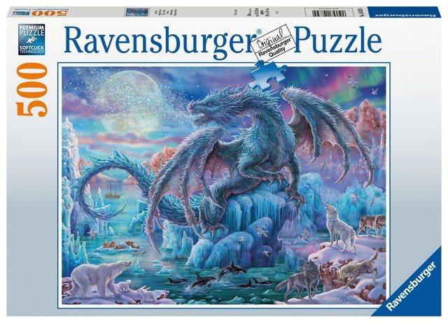 Ravensburger 148394 Varázslatos sárkányok, 500 darabos