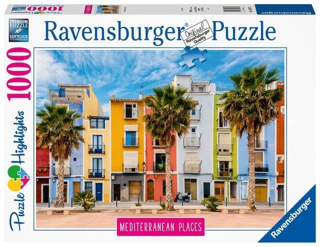 Ravensburger 149773 Spanyolország, 1000 darabos