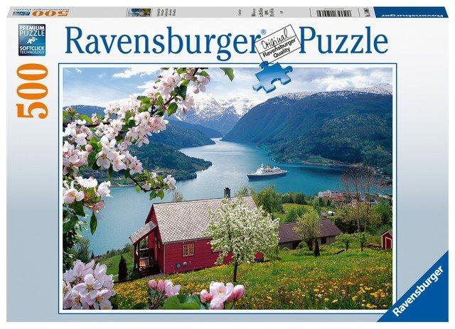 Ravensburger 150069 Tájkép, 500 darabos
