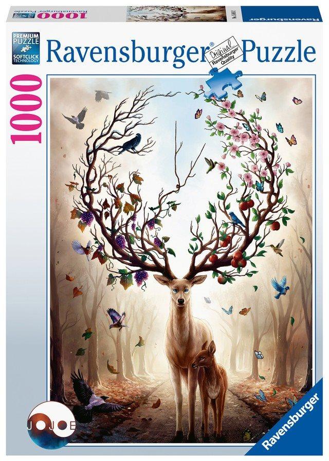 Ravensburger 150182 Mesés szarvas, 1000 darabos