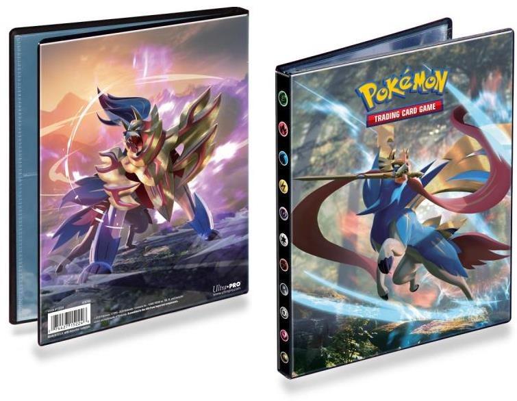 Pokémon: Sword and Shield - A5-ös album 80 kártyára