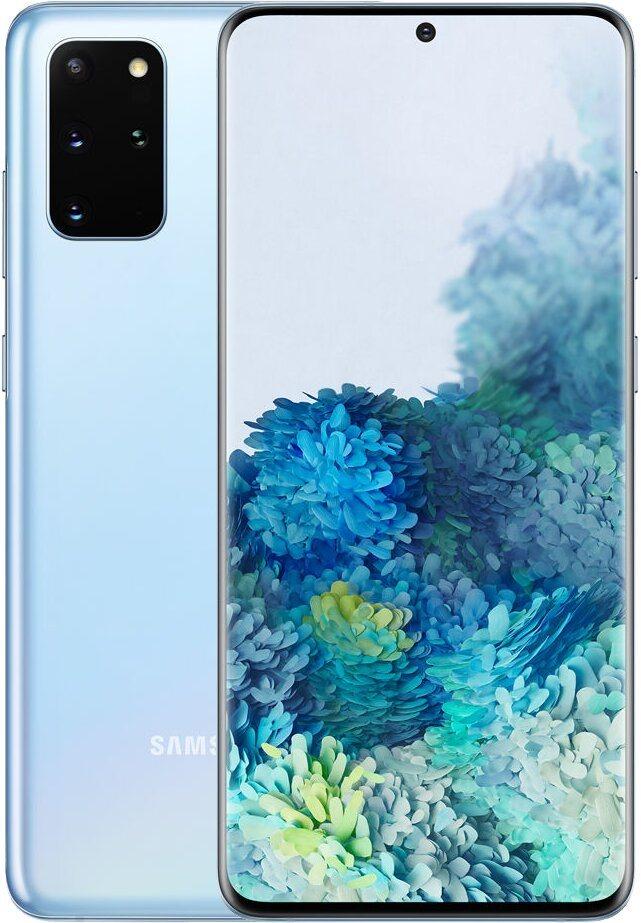 Samsung Galaxy S20+ kék