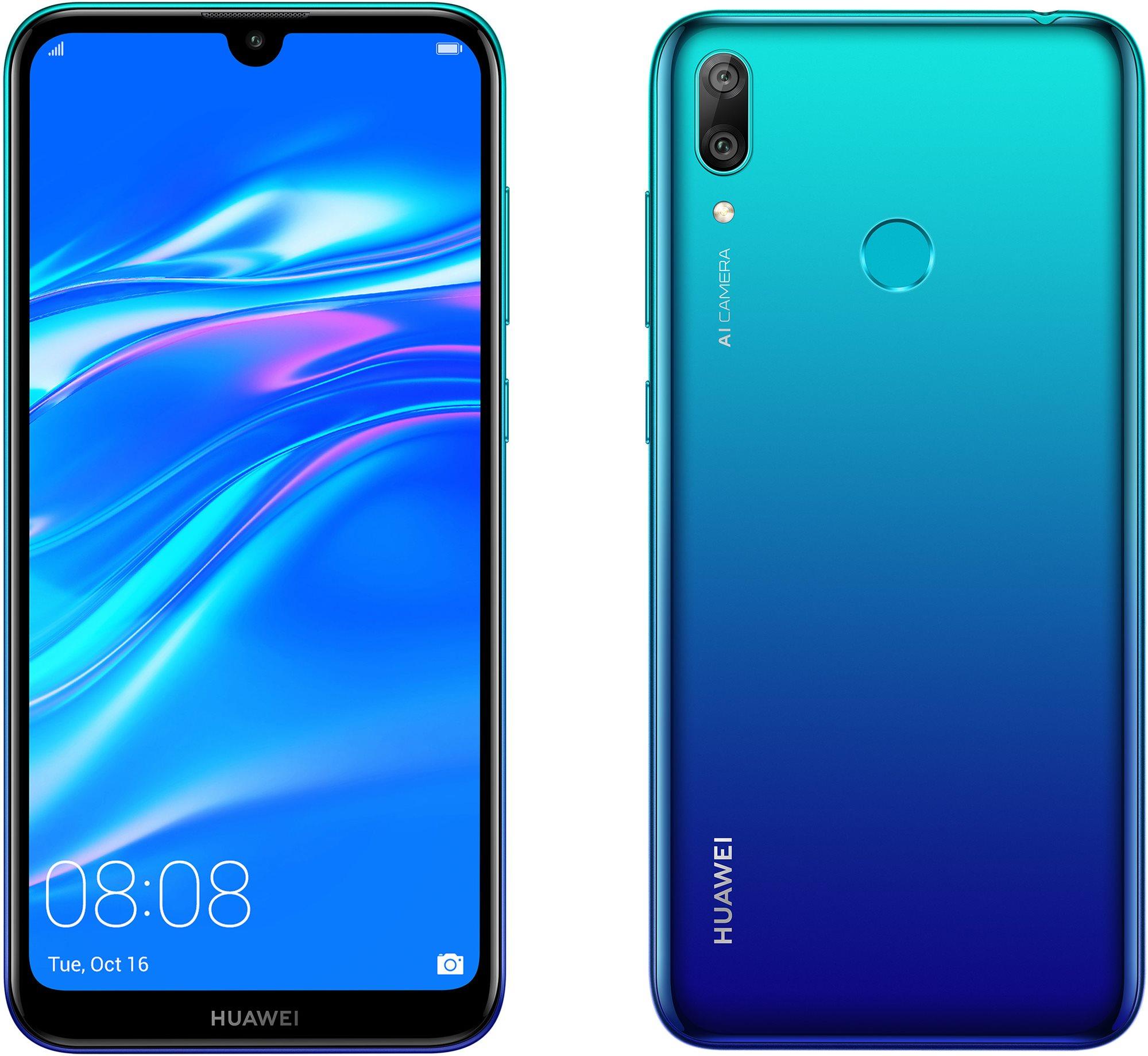 HUAWEI Y7 (2019) kék