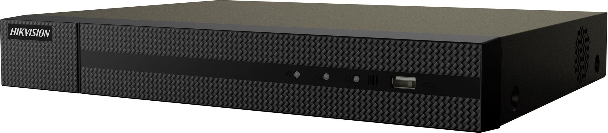 HiWatch HWN-2104MH-4P, NVR, 4MP, felvevő, 4 ch, 1 HDD, 4 PoE