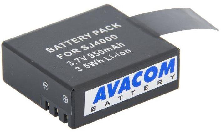 AVACOM Sjcam Li-Ion 3,7V 950mAh  3.5Wh Action Cam 4000, 5000, M10-hez