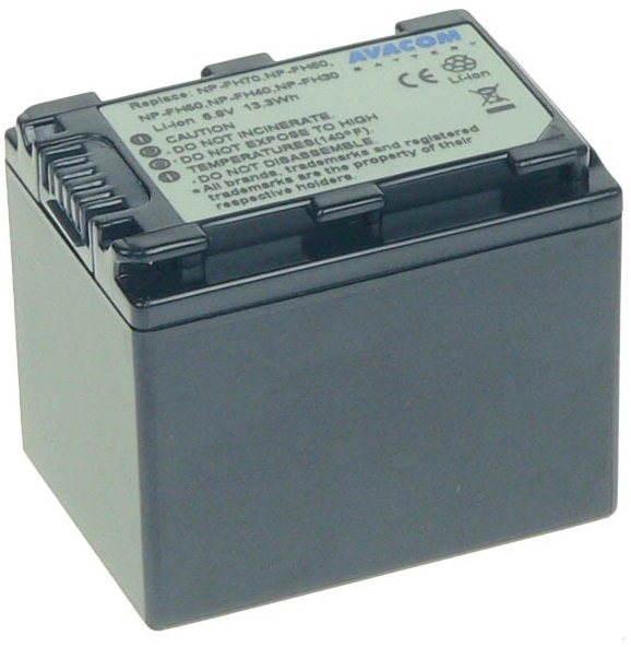 AVACOM Sony NP-FH60 / NP-FH70 Li-ionhoz 6,8V 1960mAh 13,3 Wh