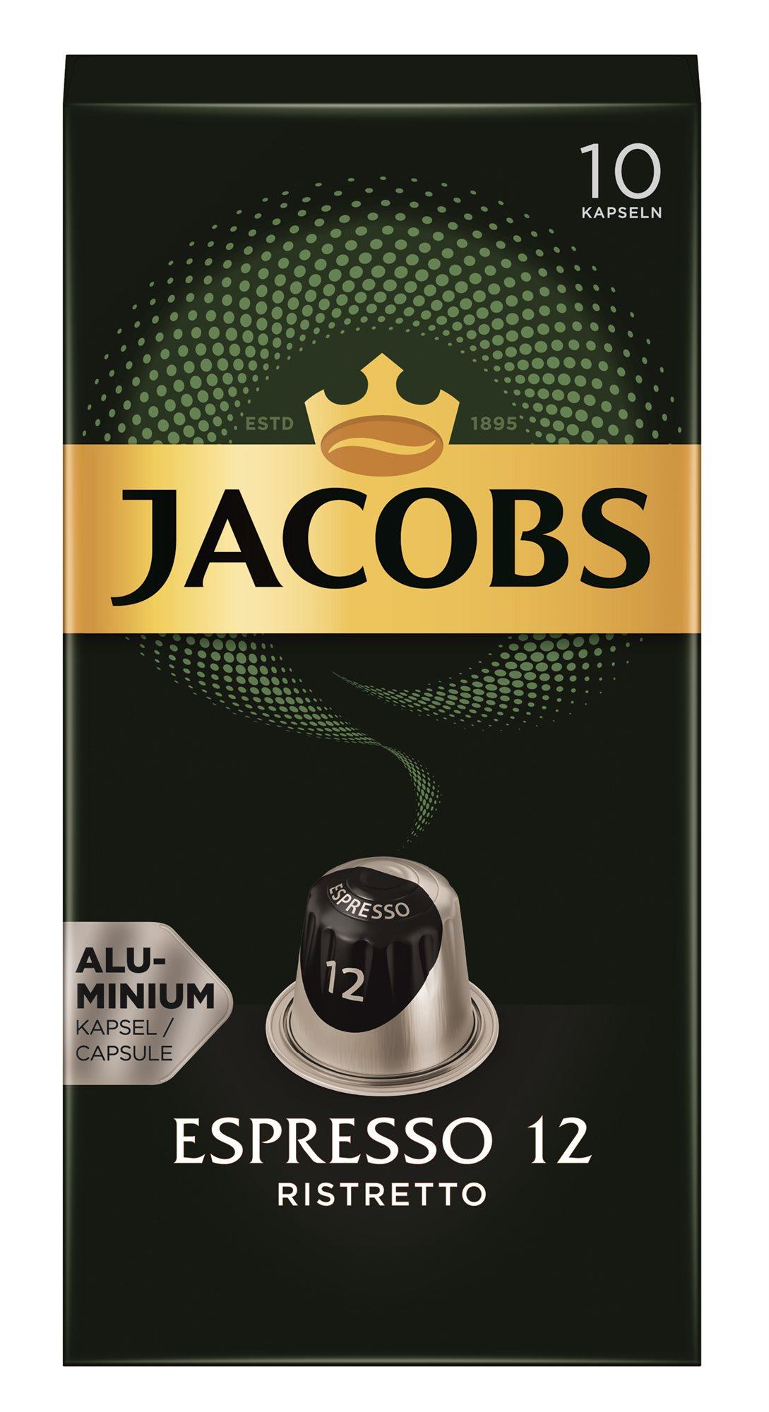 Jacobs Espresso Ristretto 10 db