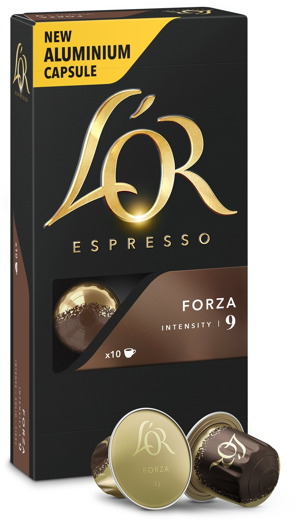 L'OR Espresso Forza 10 db alumínium kapszula