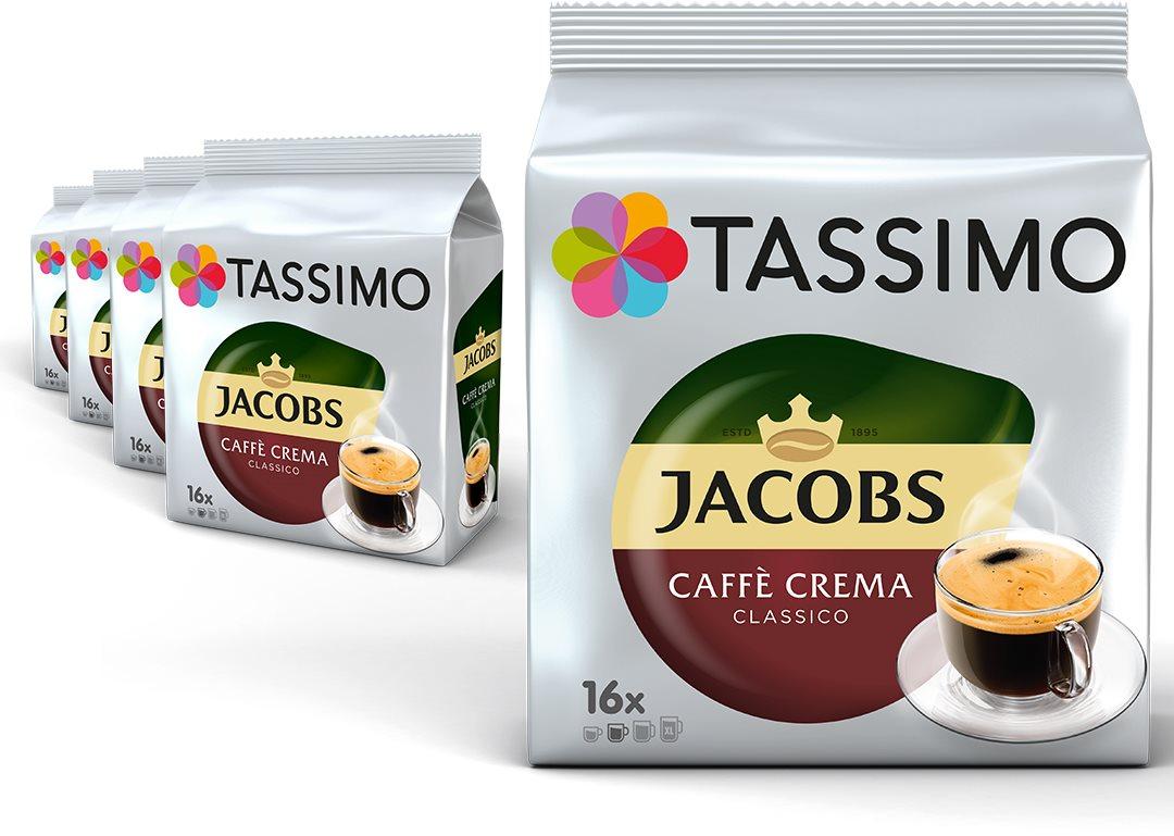 Tassimo KARTON 5 x Jacobs Cafe Crema 112g