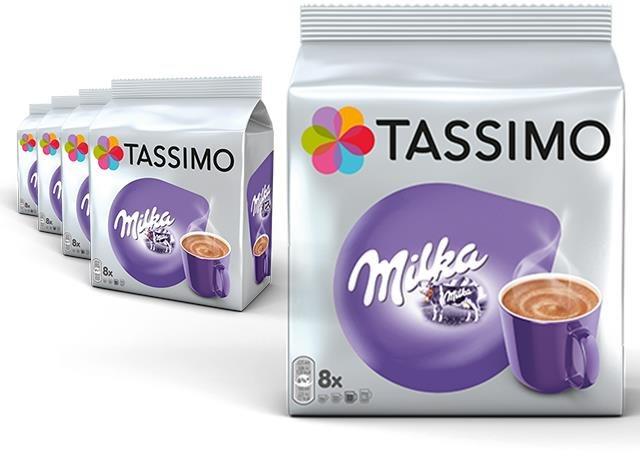 Tassimo KARTON 5 x Milka big disc 240g