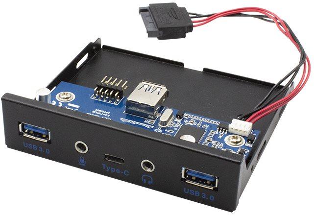 I-TEC USB-C / USB 3.0 / Audio 3,5