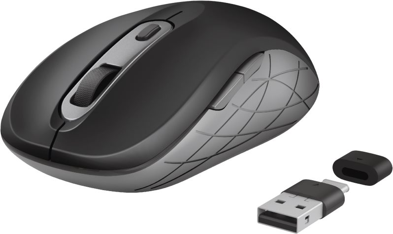 TRUST DUCON WIRELESS MOUSE USB/USB-C