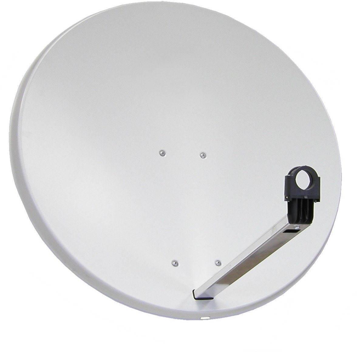 Telesystem parabola antenna 85x84cm alumínium, karton