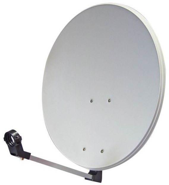 Telesystem parabola antenna 74x84cm alumínium, karton