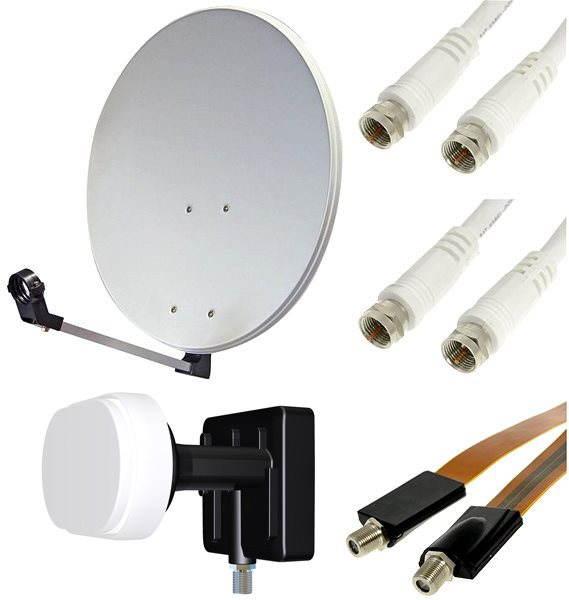 TV Set, műholdvevő - 2 műholdak, 1 vevő