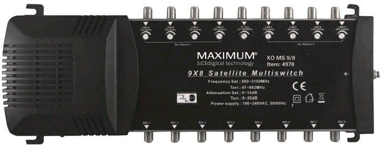 Multiswitch Maximum 9/8