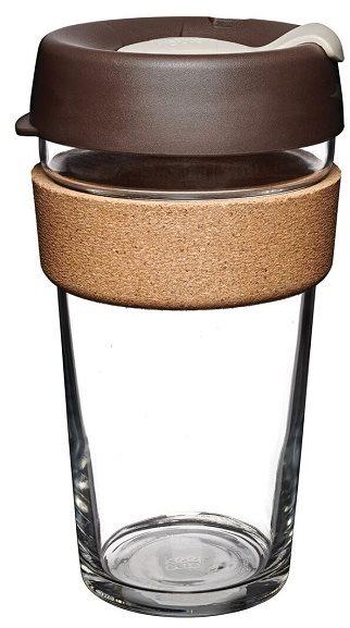 KeepCup bögre Brew Cork Almond 454 ml L