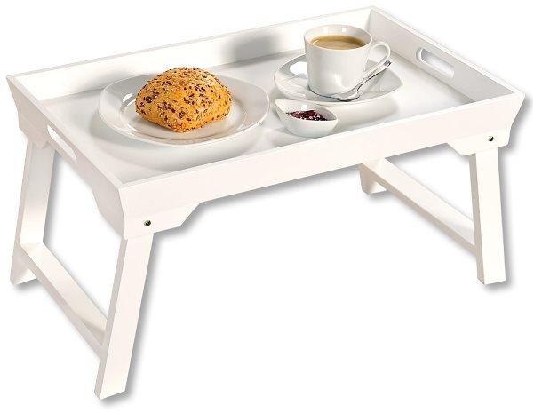 Kesper Tálalótálca / reggelizőtálca, fehér