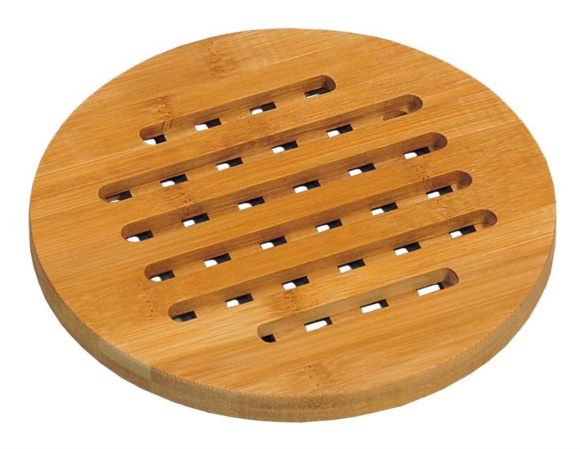 Kesper kerek edény alátét, bambusz