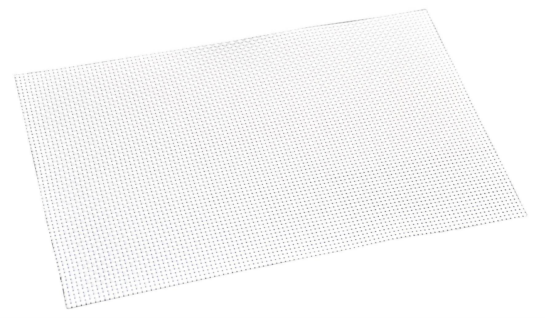 Kesper Tányéralátét fonott műanyagból, fehér színű