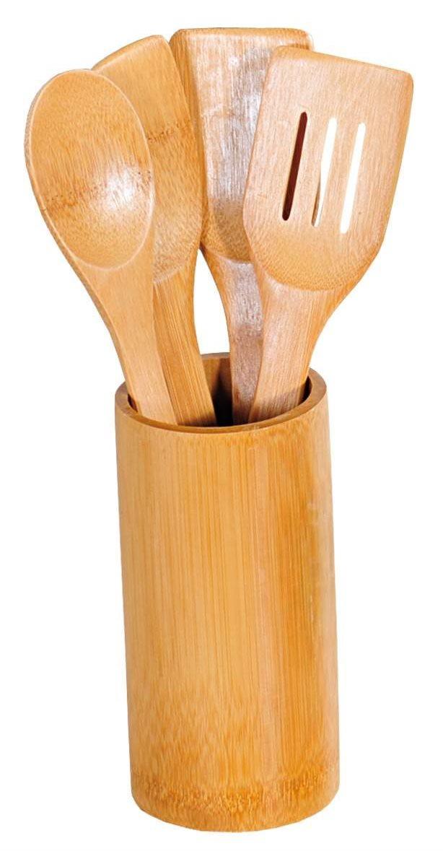 Kesper konyhai szett 5 db, bambusz