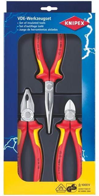 Knipex Electronics VDE fogókészlet