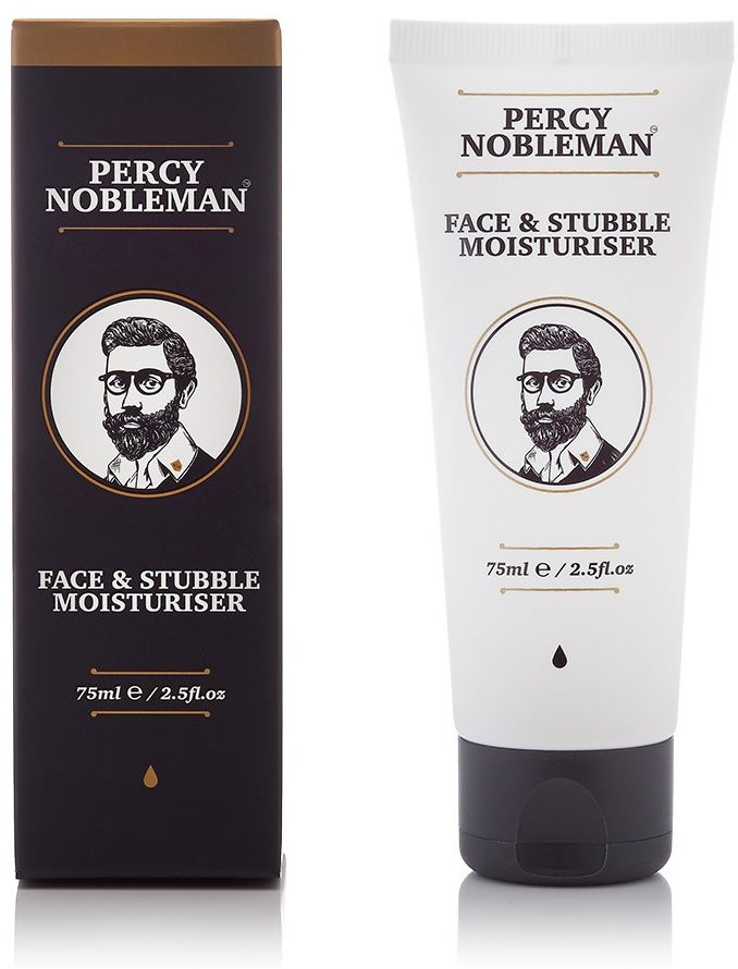 PERCY NOBLEMAN Face And Stubble Moisturizer 75 ml