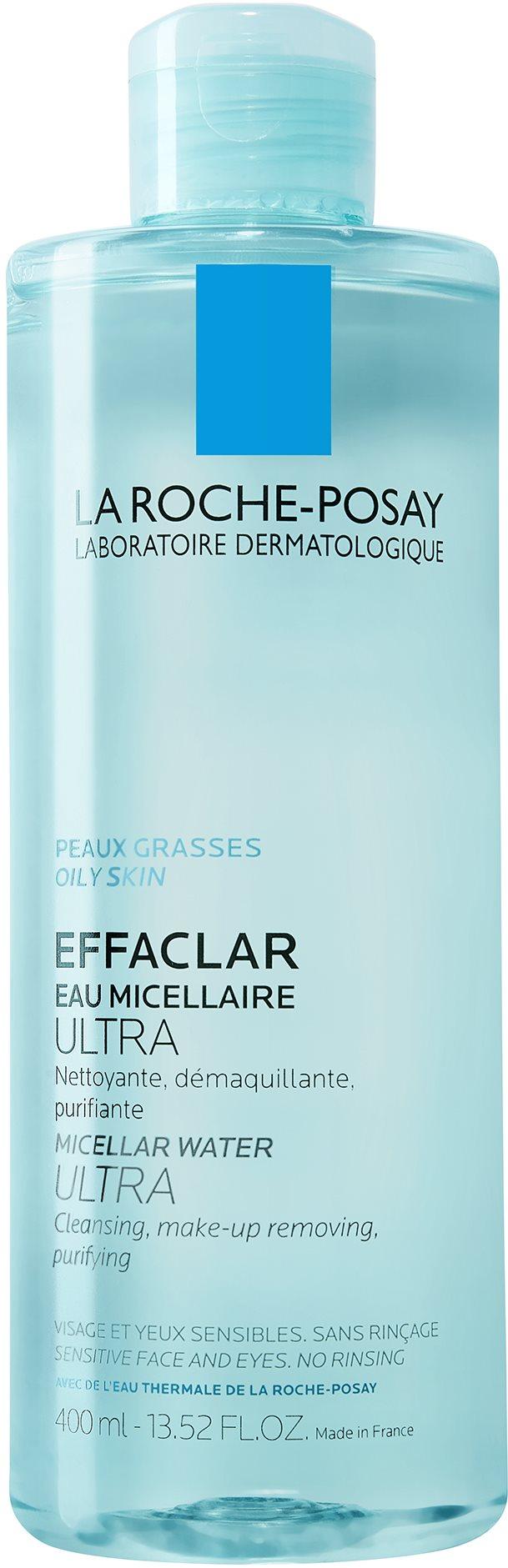LA ROCHE-POSAY Effaclar tisztító micellás víz 400 ml