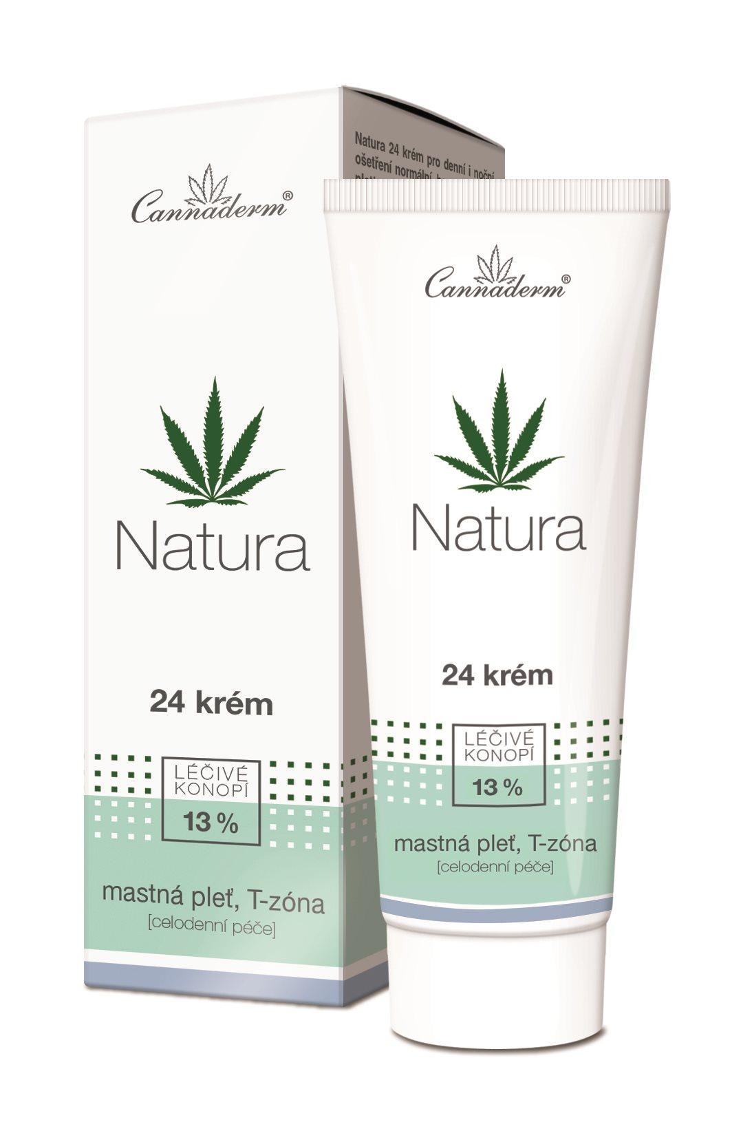 CANNADERM Natura 24 Krém zsíros bőrre 75 g