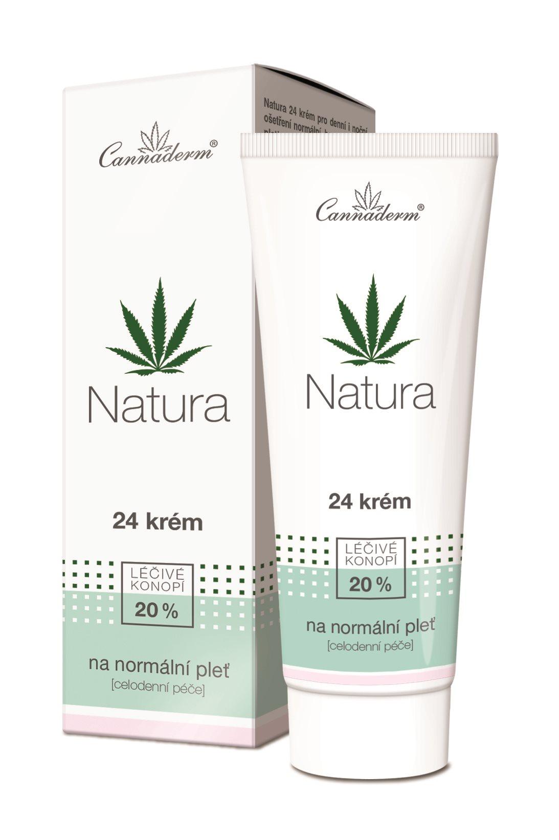 CANNADERM Natura 24 Krém normál bőrre 75 g