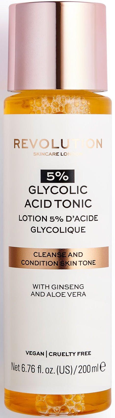 REVOLUTION SKINCARE 5% Glycolic Acid Tonic 200 ml
