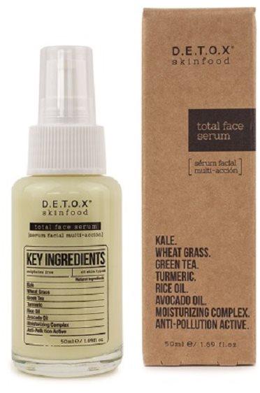 DETOX SKINFOOD Total Face Serum 50 ml