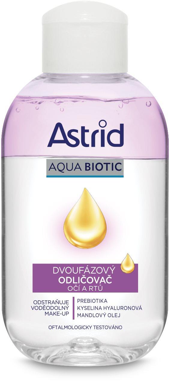 ASTRID Aqua Biotic Kétfázisú szem- és ajaksminklemosó 125 ml