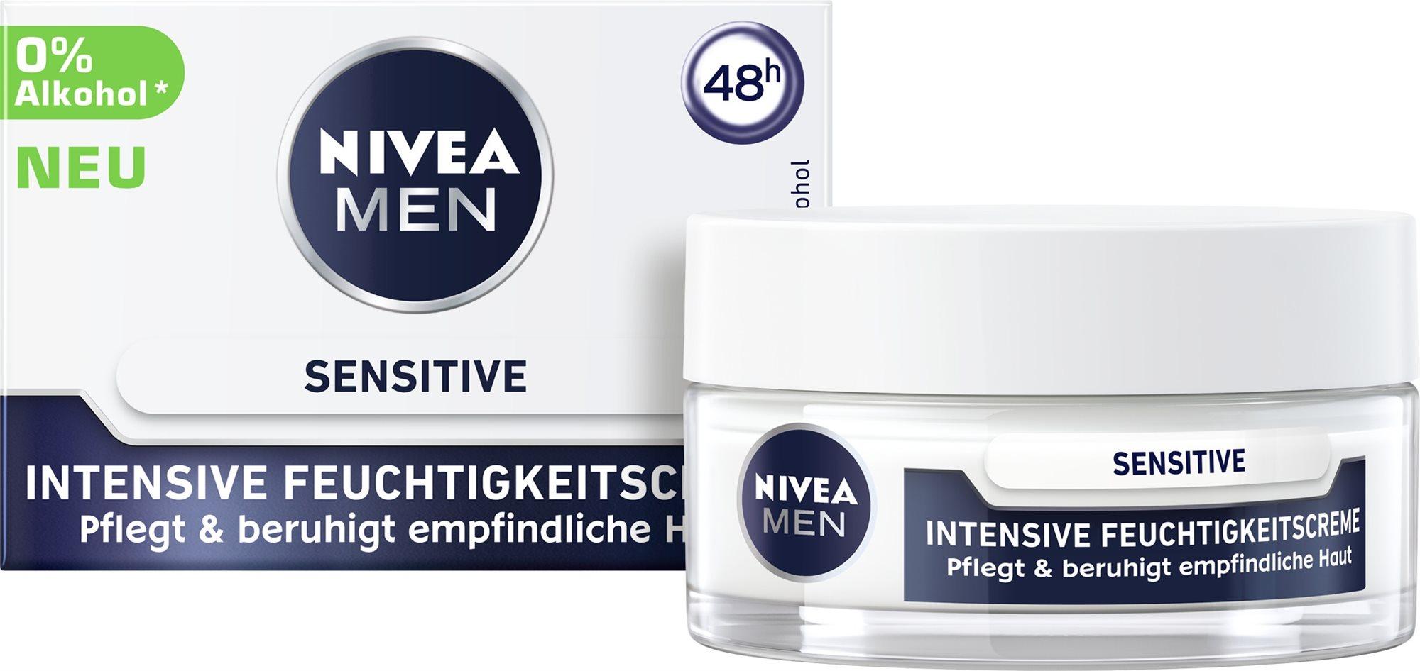 NIVEA MEN Sensitive Intensive Face Cream 50 ml