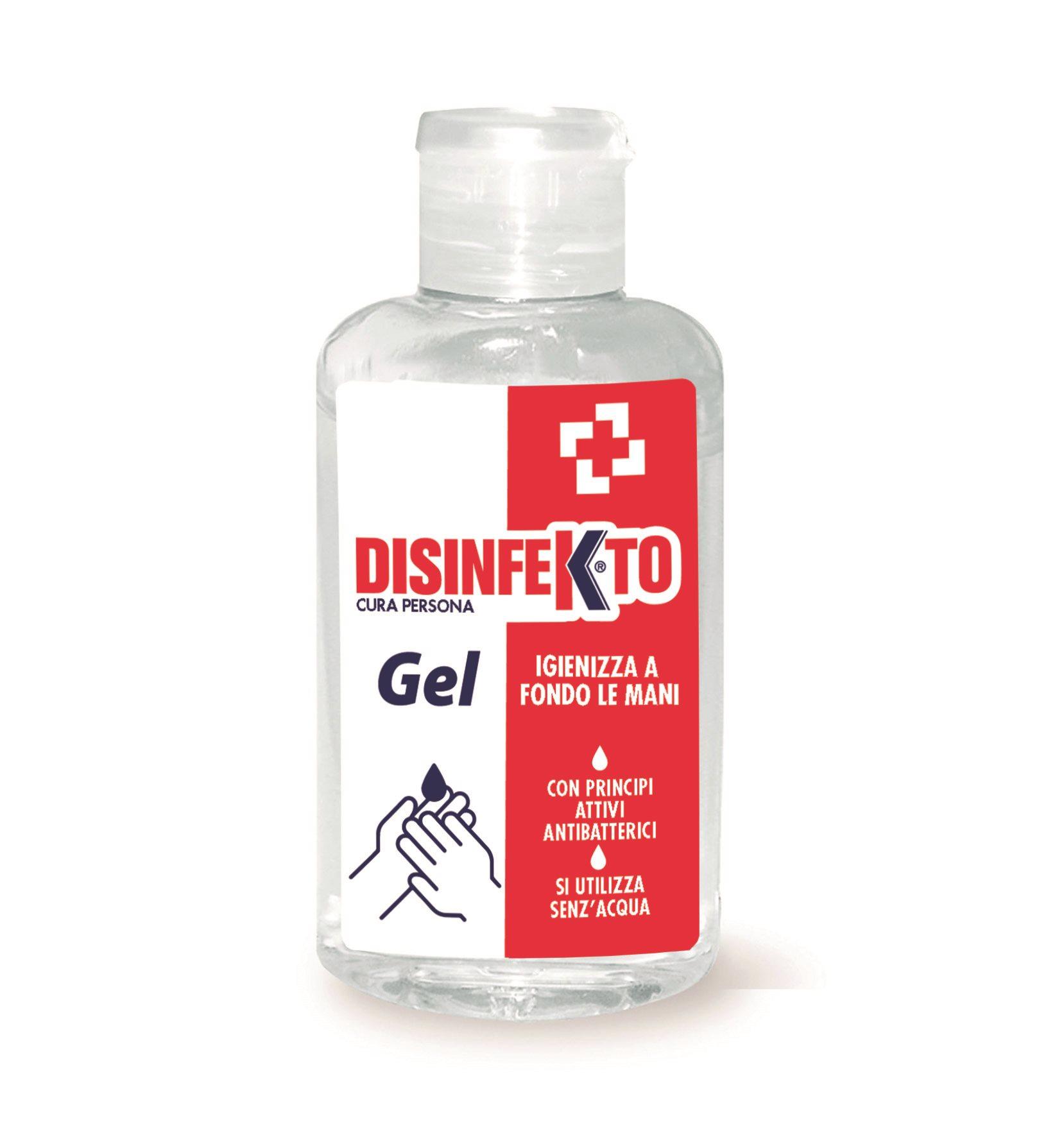 DISINFEKTO Alkoholtartalmú kézgél 100 ml