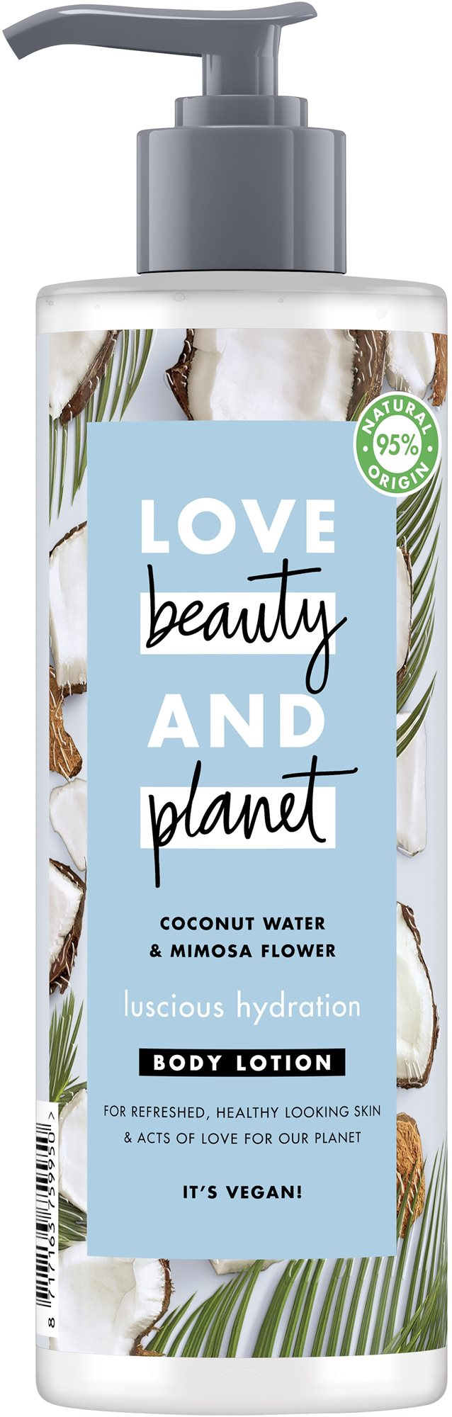 LOVE BEAUTY AND PLANET Luscious Hydratation Body Lotion 400 ml