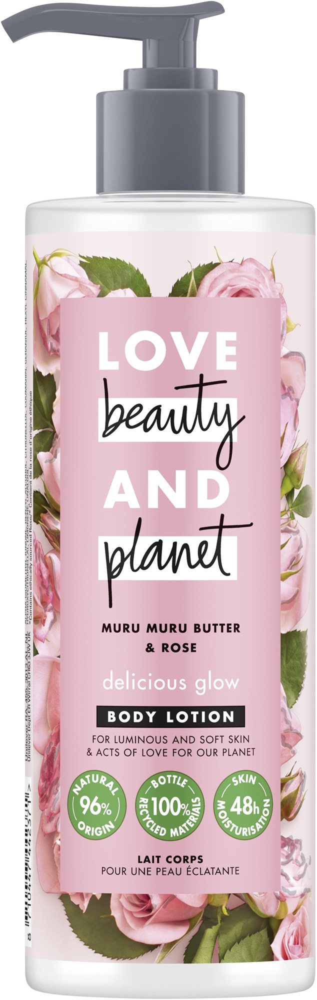 LOVE BEAUTY AND PLANET Delicious Glow Body Lotion 400 ml