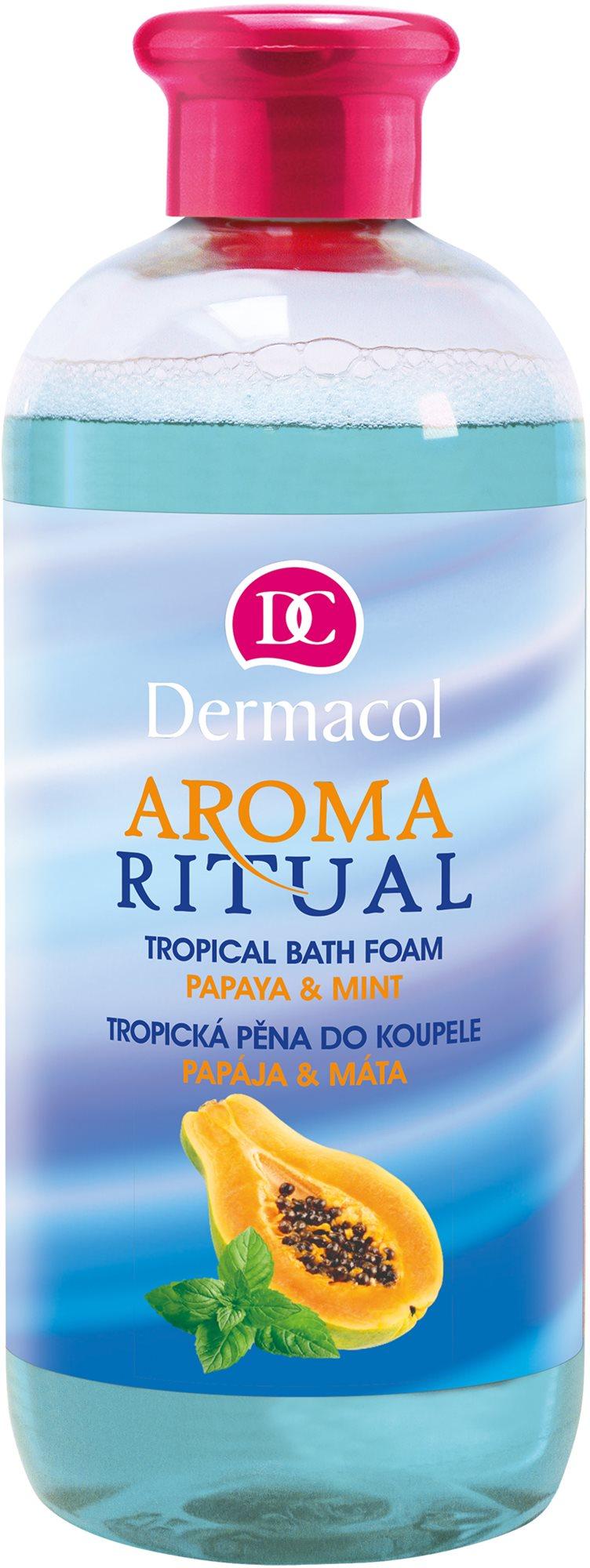 DERMACOL Aroma Ritual Papaya & Mint Tropical Bath Foam 500 ml