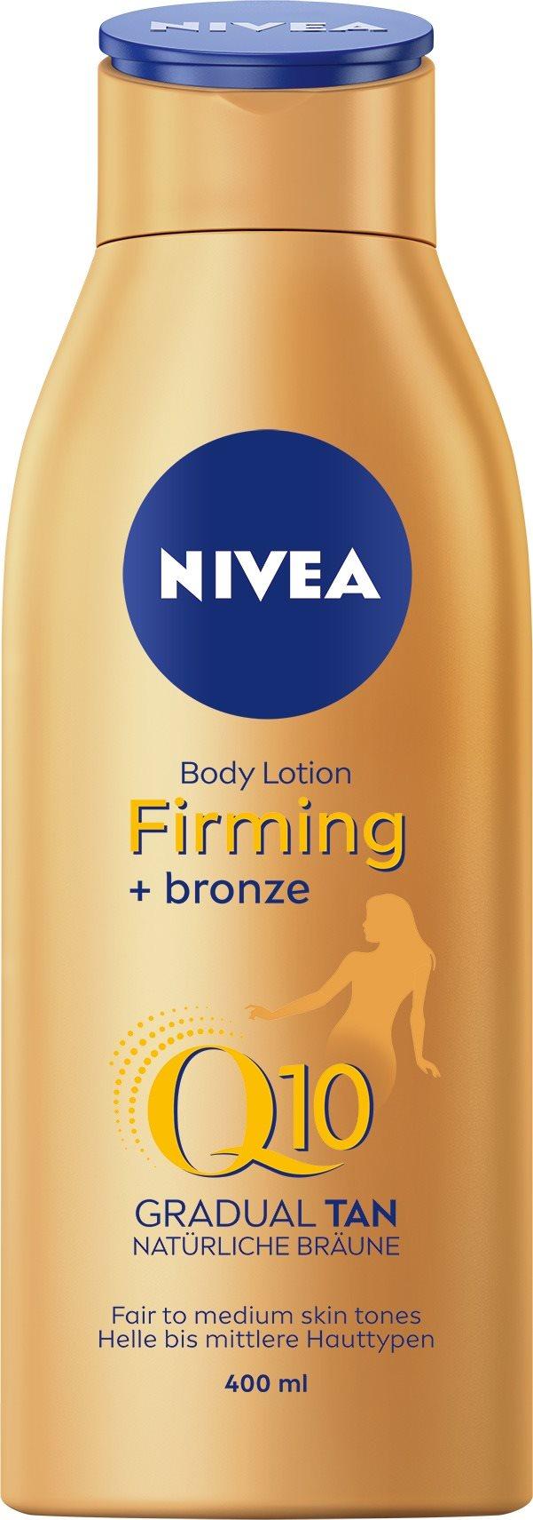 NIVEA Firming + Bronze Q10 Body Lotion 400 ml