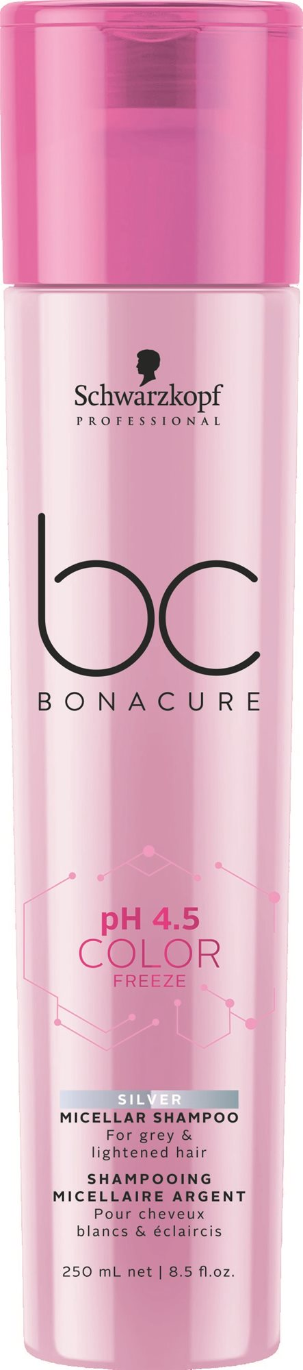 SCHWARZKOPF Professional BC Cell Perfect Color Freeze Silver Shampoo 250 ml