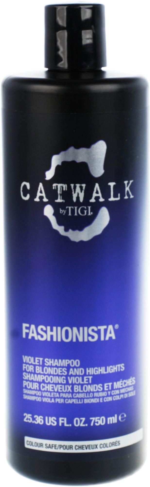 Tigi Catwalk Fashionista Violet sampon szőke hajra - 750 ml