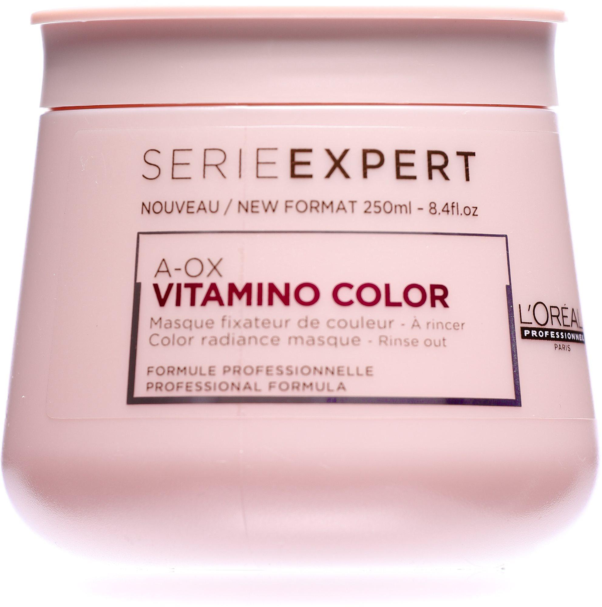 ĽORÉAL PROFESSIONNEL Serie Expert  A-Ox Vitamino Color Masque hajpakolás 250 ml