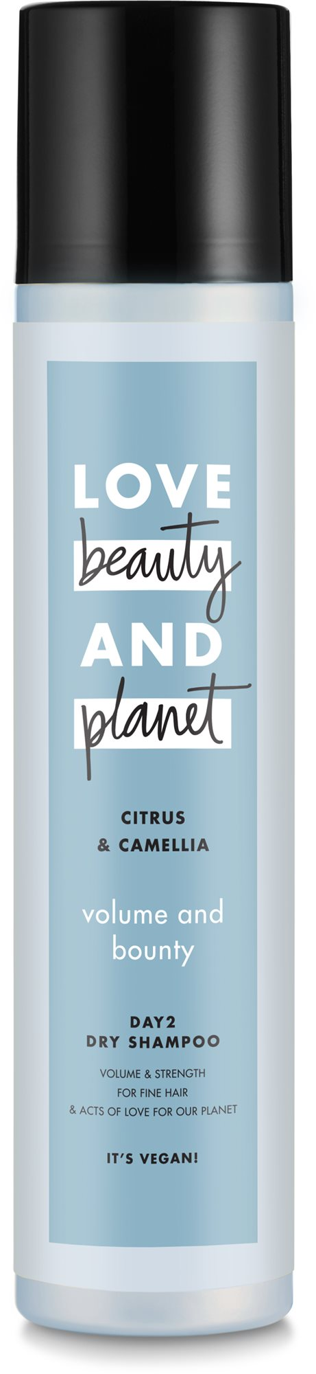LOVE BEAUTY AND PLANET Volume and Bounty Dry Shampoo 245 ml