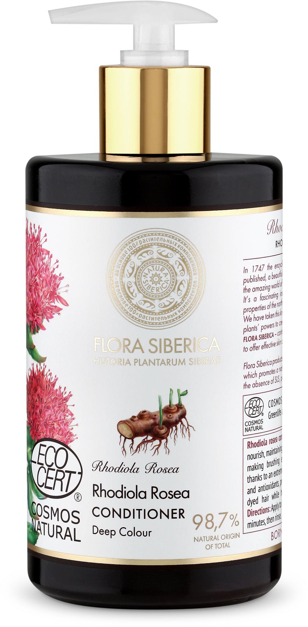 NATURA SIBERICA Flora Deep Colour Conditioner 480 ml