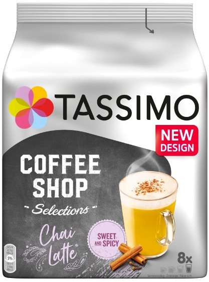 TASSIMO Chai Latte 8 adagos kávékapszula