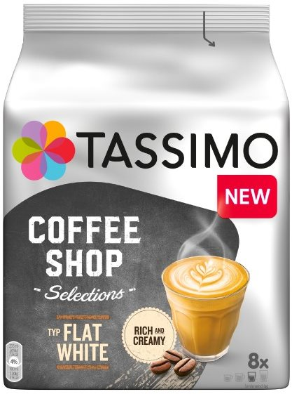 TASSIMO Flat White 8 adagos kávékapszula