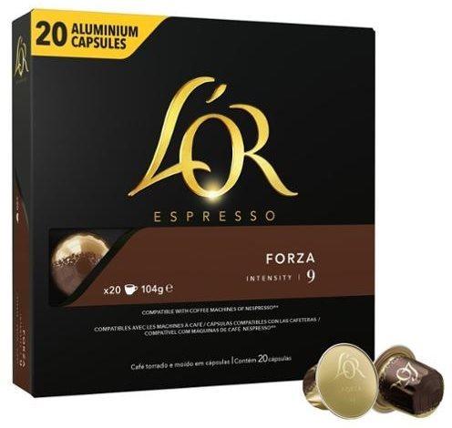 L'OR Forza 20ks hliníkových kapslí
