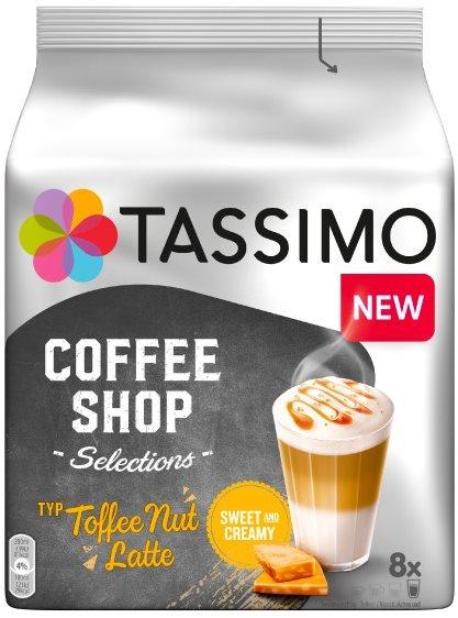 TASSIMO Toffee Nut Latte 8 adagos kávékapszula