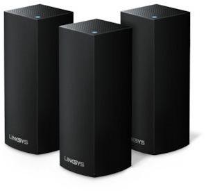 Linksys Velop AC6600 Whole Home Wi-Fi (3 egység), fekete