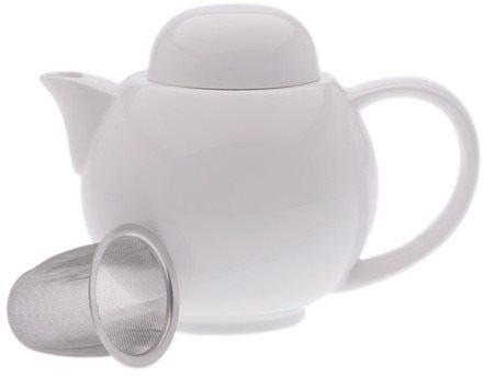 Maxwell & Williams Teáskanna és 6 csésze szűrővel WHITE BASICS